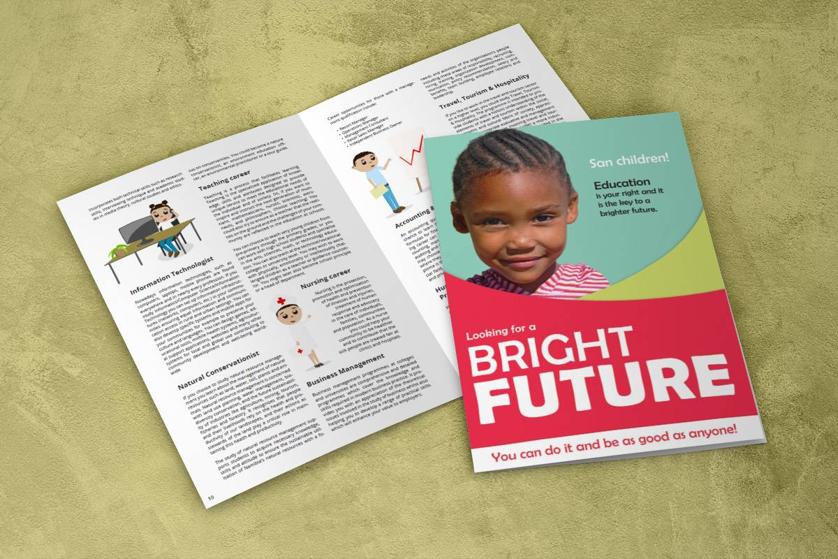 Bright future brochure